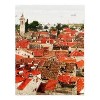 Trogir 4 postcard