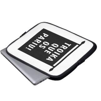 Troika Que os Pariu Laptop Computer Sleeves