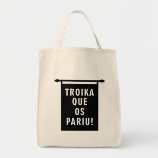 Troika Que os Pariu Tote Bag