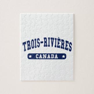 Trois-Rivières Jigsaw Puzzle