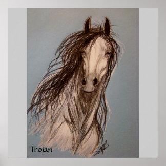 """Trojan"" by Susan Bergstrom Posters"