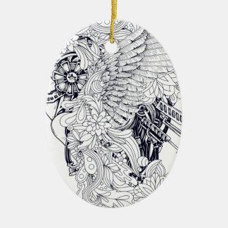Trojan Ceramic Ornament