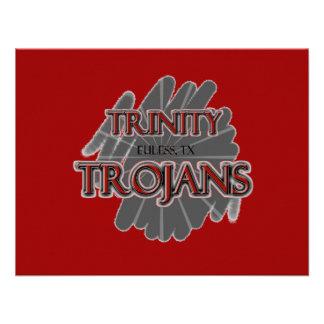 Trojan de la High School secundaria de la trinidad Anuncios Personalizados