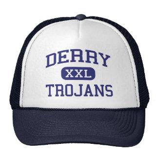 Trojan Derry medio Pennsylvania de Derry Gorras