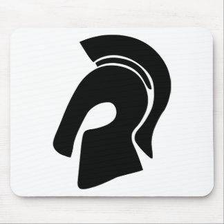 Trojan Helmet Mouse Pad