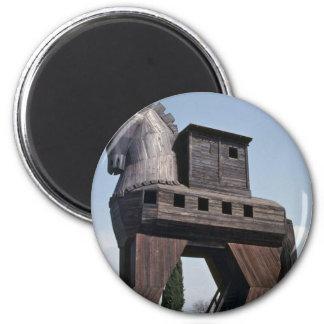 Trojan Horse 2 Inch Round Magnet