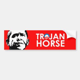 TROJAN HORSE CAR BUMPER STICKER
