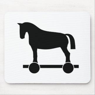 Trojan Horse Mouse Pad