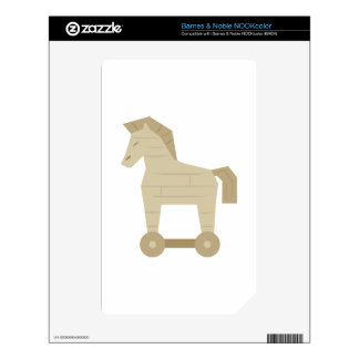 Trojan Horse NOOK Color Decal