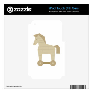 Trojan Horse Skin For iPod Touch 4G