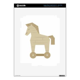 Trojan Horse Skins For iPad 3