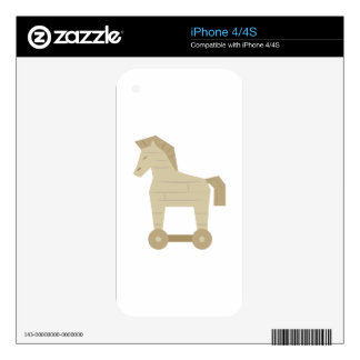 Trojan Horse Skin For iPhone 4S