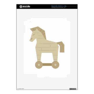 Trojan Horse iPad 2 Skins