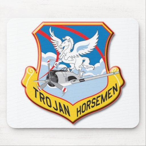 Trojan Horsemen Mouse Pad