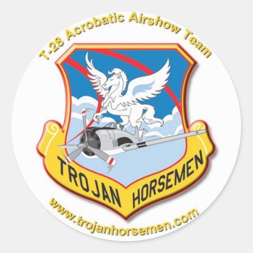 Trojan Horsemen Stickers