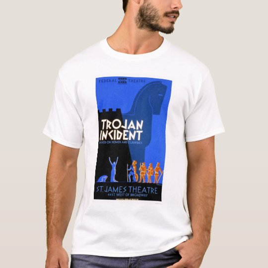 Trojan Incident Homer 1937 WPA T-Shirt