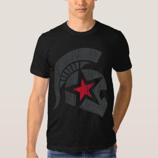 Trojan Moto (gry/red) vintage T-shirt