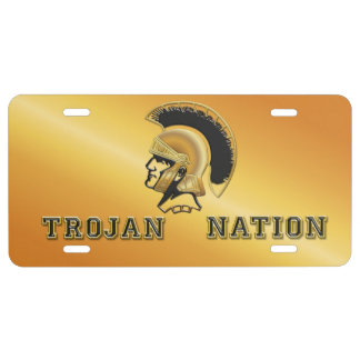 Trojan Nation - Team Spirit License Plate
