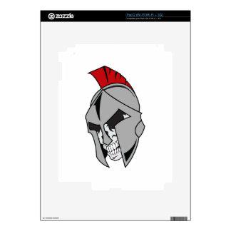 TROJAN SKULL SKINS FOR iPad 2