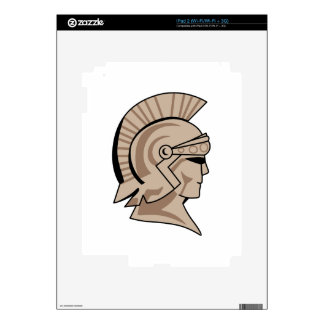 TROJAN SPARTAN HEAD SKIN FOR THE iPad 2
