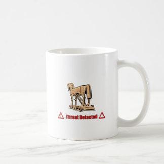 Trojan Threat Detected Coffee Mug