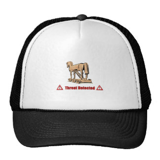 Trojan Threat Detected Hats