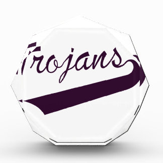 Trojans Acrylic Award