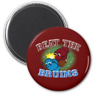 Trojans Beat Bruins 2 Inch Round Magnet