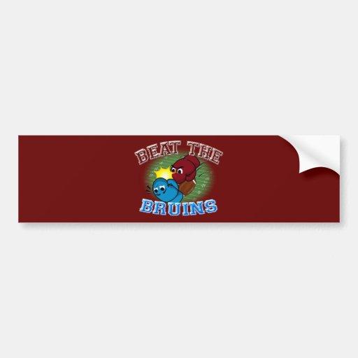 Trojans Beat Bruins Car Bumper Sticker