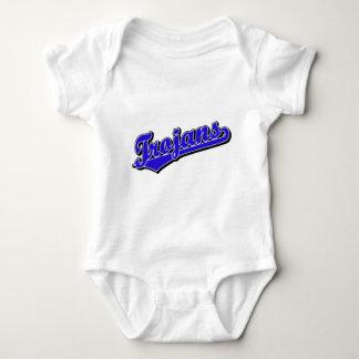 Trojans in Blue Baby Bodysuit