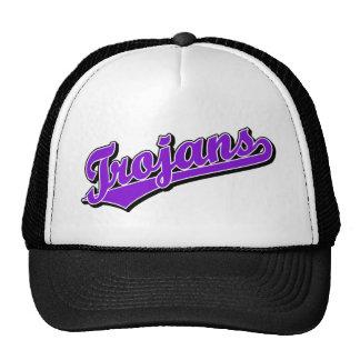 Trojans in Purple Trucker Hats