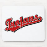 Trojans in Red Mouse Pad