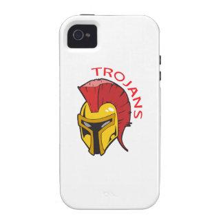 TROJANS MASCOT iPhone 4/4S CASES