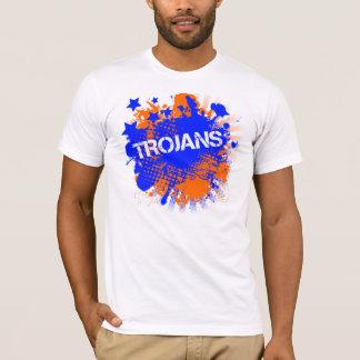 Trojans Orange & Blue Tee