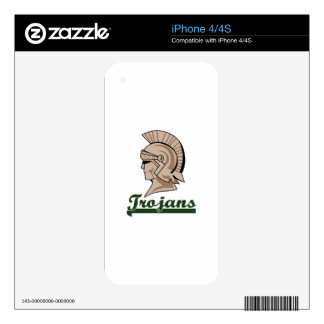 TROJANS DECAL FOR iPhone 4