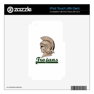 TROJANS DECAL FOR iPod TOUCH 4G