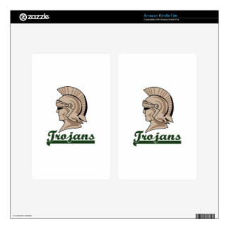 TROJANS SKIN FOR KINDLE FIRE