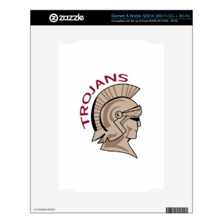 TROJANS SKINS FOR THE NOOK