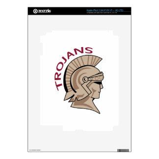 TROJANS DECALS FOR iPad 3