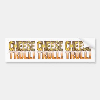 Troll Blue Cheese Bumper Sticker