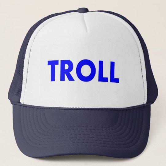 Troll Blue Trucker Hat