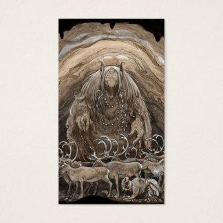 Troll, Boy and Reindeer Business Card