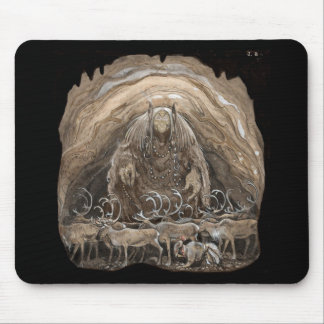 Troll, Boy and Reindeer Mousepad