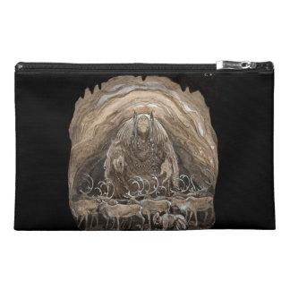 Troll, Boy and Reindeer Travel Accessories Bag