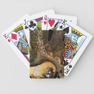 Troll by a Campfire Bicycle Playing Cards