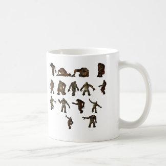 Troll collection classic white coffee mug