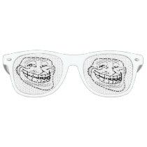 troll face meme glasses funny