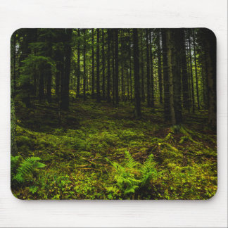 Troll forest ghost travelled Estonian Mouse Pad