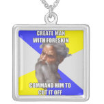 Troll God Circumcision Personalized Necklace