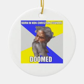 Troll God Doomed Christmas Ornaments
